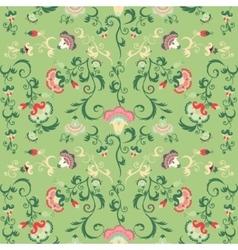 Seamless oriental tribal pattern vector image vector image