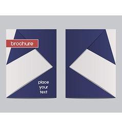 France 2016 Football Brochure Flyer design Layout vector image vector image
