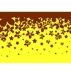 abstract background from brown black vector image