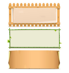 Boards Set 5 vector image