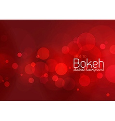 Bokeh and blur abstract background vector image