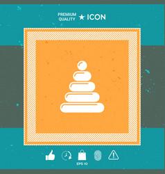 children toy icon vector image