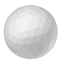 creative ball vector image