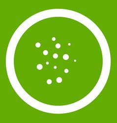 Hot sauce icon green vector