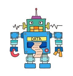 Icon robot vector