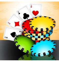 Poker time vector