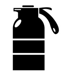 sprayer container icon simple style vector image