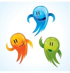 funny mascots vector image