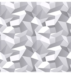 Seamless Crumpled paper abstract background vector image vector image
