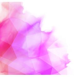 abstract watercolour design vector image vector image