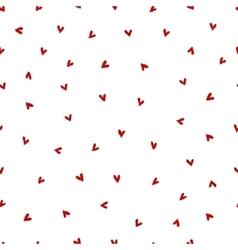 Watercolor Heart Pattern vector image
