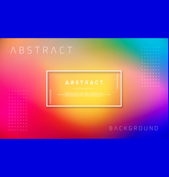 abstract colorful dynamic background vector image