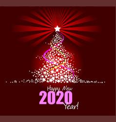 Christmas - new year midnight vector