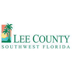 Coat arms lee county in florida united vector