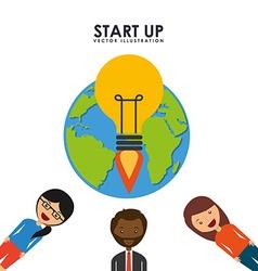 Start up design vector
