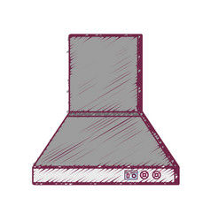 Technology odor extractor kitchen utensil vector