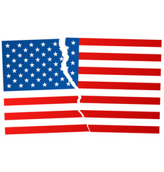 The disintegration united states after vector