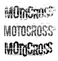 tire moto lettering vector image