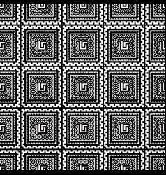 tribal geometric greek seamless pattern ethnic vector image