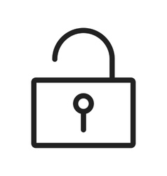 Unlock vector