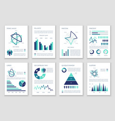multipurpose marketing infographics with vector image vector image