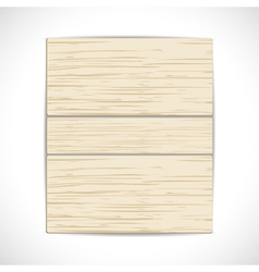 wooden panel background vector image vector image