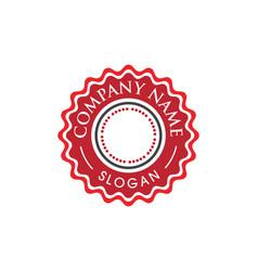 Circle emblem design vector