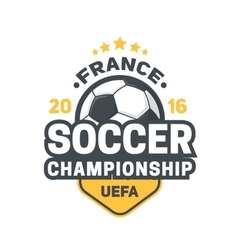 Football uefa 2016 background vector