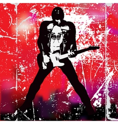 guitarista vector image
