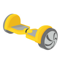 Small segway icon cartoon style vector