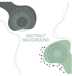 trendy abstract background vector image