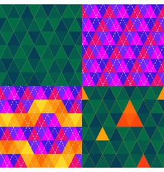 Triangle pattern 02 vector