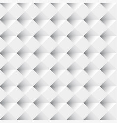 white seamless geometric pattern background vector image