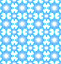 Abstract snowflake puzzled seamless pattern backgr vector image vector image