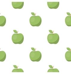 Apple icon cartoon Singe fruit icon vector image vector image
