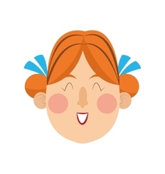 bavarian woman icon vector image