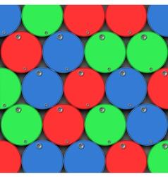 Oil Drums Barrels vector image