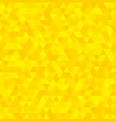 Abstract yellow triangle background vector