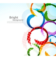 Colorful background with arrows vector image