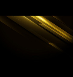 gold abstract minimal geometric background vector image