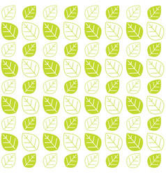 green leaves texture pattern background web theme vector image