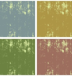 Grunge background collection vector image