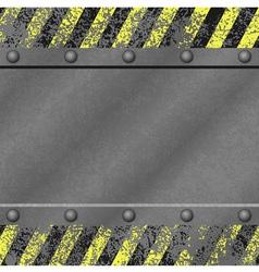 Grunge Metal Background vector image