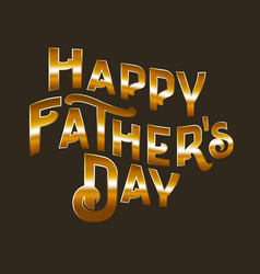 happy fathers dat vector image