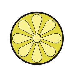 Lemon icon vector