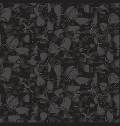 marbled rock seamless dark gray pattern vector image