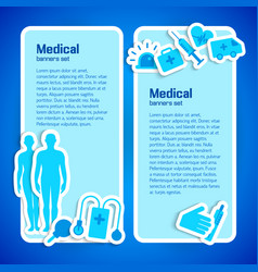 medical concept vector image