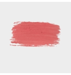 Red paint Texture red chalk plaster or vector image