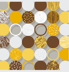 retro circles background use for covers banners vector image