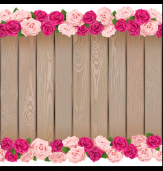 Seamless Flower Frame vector